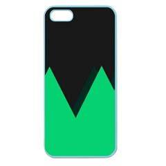 Soaring Mountains Nexus Black Green Apple Seamless Iphone 5 Case (color) by Alisyart