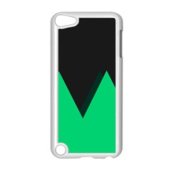 Soaring Mountains Nexus Black Green Apple Ipod Touch 5 Case (white) by Alisyart