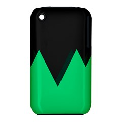Soaring Mountains Nexus Black Green Iphone 3s/3gs by Alisyart