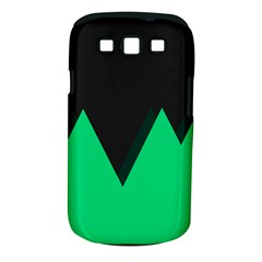 Soaring Mountains Nexus Black Green Samsung Galaxy S Iii Classic Hardshell Case (pc+silicone) by Alisyart