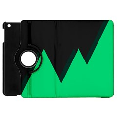 Soaring Mountains Nexus Black Green Apple Ipad Mini Flip 360 Case by Alisyart
