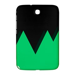Soaring Mountains Nexus Black Green Samsung Galaxy Note 8 0 N5100 Hardshell Case  by Alisyart