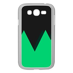 Soaring Mountains Nexus Black Green Samsung Galaxy Grand Duos I9082 Case (white) by Alisyart