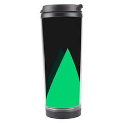 Soaring Mountains Nexus Black Green Travel Tumbler by Alisyart