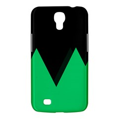 Soaring Mountains Nexus Black Green Samsung Galaxy Mega 6 3  I9200 Hardshell Case by Alisyart