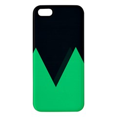 Soaring Mountains Nexus Black Green Iphone 5s/ Se Premium Hardshell Case by Alisyart