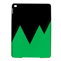 Soaring Mountains Nexus Black Green Ipad Air 2 Hardshell Cases by Alisyart