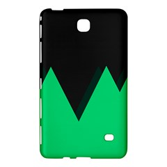 Soaring Mountains Nexus Black Green Samsung Galaxy Tab 4 (7 ) Hardshell Case  by Alisyart