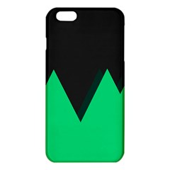 Soaring Mountains Nexus Black Green Iphone 6 Plus/6s Plus Tpu Case