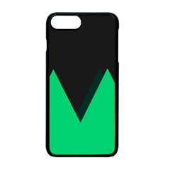 Soaring Mountains Nexus Black Green Apple Iphone 7 Plus Seamless Case (black) by Alisyart