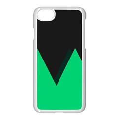 Soaring Mountains Nexus Black Green Apple Iphone 7 Seamless Case (white) by Alisyart