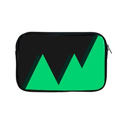 Soaring Mountains Nexus Black Green Apple Macbook Pro 13  Zipper Case by Alisyart