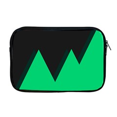 Soaring Mountains Nexus Black Green Apple Macbook Pro 17  Zipper Case by Alisyart