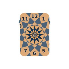Stellated Regular Dodecagons Center Clock Face Number Star Apple Ipad Mini Protective Soft Cases by Alisyart