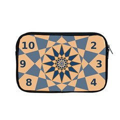 Stellated Regular Dodecagons Center Clock Face Number Star Apple Macbook Pro 13  Zipper Case