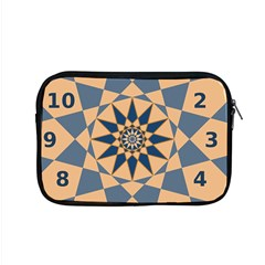 Stellated Regular Dodecagons Center Clock Face Number Star Apple Macbook Pro 15  Zipper Case by Alisyart
