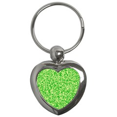 Specktre Triangle Green Key Chains (heart)  by Alisyart