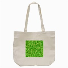 Specktre Triangle Green Tote Bag (cream) by Alisyart