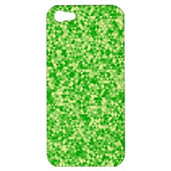 Specktre Triangle Green Apple Iphone 5 Hardshell Case