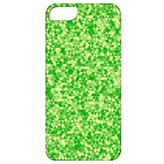 Specktre Triangle Green Apple Iphone 5 Classic Hardshell Case