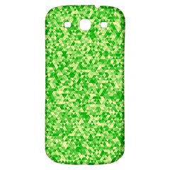 Specktre Triangle Green Samsung Galaxy S3 S Iii Classic Hardshell Back Case by Alisyart