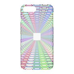 Tunnel With Bright Colors Rainbow Plaid Love Heart Triangle Apple Iphone 7 Plus Hardshell Case