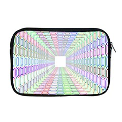 Tunnel With Bright Colors Rainbow Plaid Love Heart Triangle Apple Macbook Pro 17  Zipper Case by Alisyart