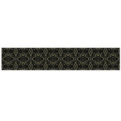 Dark Interlace Tribal  Flano Scarf (large) by dflcprintsclothing