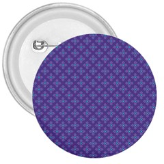Abstract Purple Pattern Background 3  Buttons by TastefulDesigns