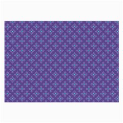 Abstract Purple Pattern Background Large Glasses Cloth by TastefulDesigns