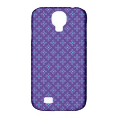 Abstract Purple Pattern Background Samsung Galaxy S4 Classic Hardshell Case (pc+silicone) by TastefulDesigns