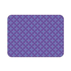 Abstract Purple Pattern Background Double Sided Flano Blanket (mini)  by TastefulDesigns