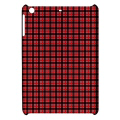 Red Plaid Apple Ipad Mini Hardshell Case by PhotoNOLA