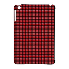Red Plaid Apple Ipad Mini Hardshell Case (compatible With Smart Cover) by PhotoNOLA