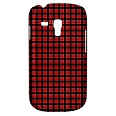 Red Plaid Galaxy S3 Mini by PhotoNOLA