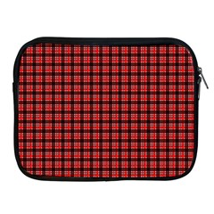 Red Plaid Apple Ipad 2/3/4 Zipper Cases by PhotoNOLA