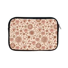 Retro Sketchy Floral Patterns Apple Ipad Mini Zipper Cases by TastefulDesigns