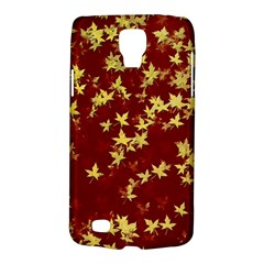 Background Design Leaves Pattern Galaxy S4 Active by Simbadda