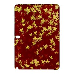 Background Design Leaves Pattern Samsung Galaxy Tab Pro 12 2 Hardshell Case by Simbadda