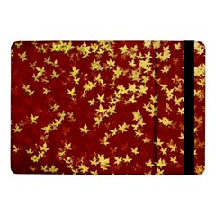 Background Design Leaves Pattern Samsung Galaxy Tab Pro 10 1  Flip Case by Simbadda