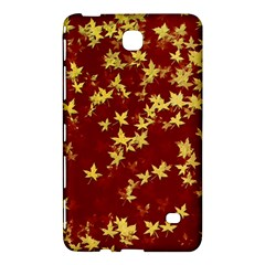 Background Design Leaves Pattern Samsung Galaxy Tab 4 (7 ) Hardshell Case  by Simbadda