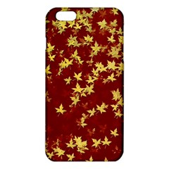 Background Design Leaves Pattern Iphone 6 Plus/6s Plus Tpu Case by Simbadda