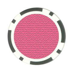 Background Letters Decoration Poker Chip Card Guard (10 Pack) by Simbadda