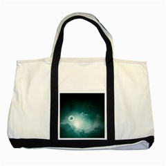 Astronaut Space Travel Gravity Two Tone Tote Bag by Simbadda