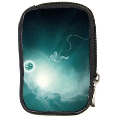 Astronaut Space Travel Gravity Compact Camera Cases by Simbadda