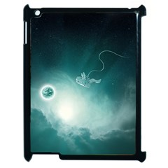Astronaut Space Travel Gravity Apple Ipad 2 Case (black) by Simbadda