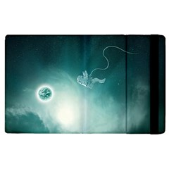 Astronaut Space Travel Gravity Apple Ipad 2 Flip Case by Simbadda