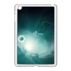 Astronaut Space Travel Gravity Apple Ipad Mini Case (white) by Simbadda