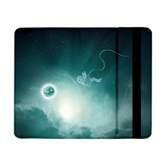 Astronaut Space Travel Gravity Samsung Galaxy Tab Pro 8 4  Flip Case by Simbadda