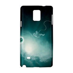 Astronaut Space Travel Gravity Samsung Galaxy Note 4 Hardshell Case by Simbadda